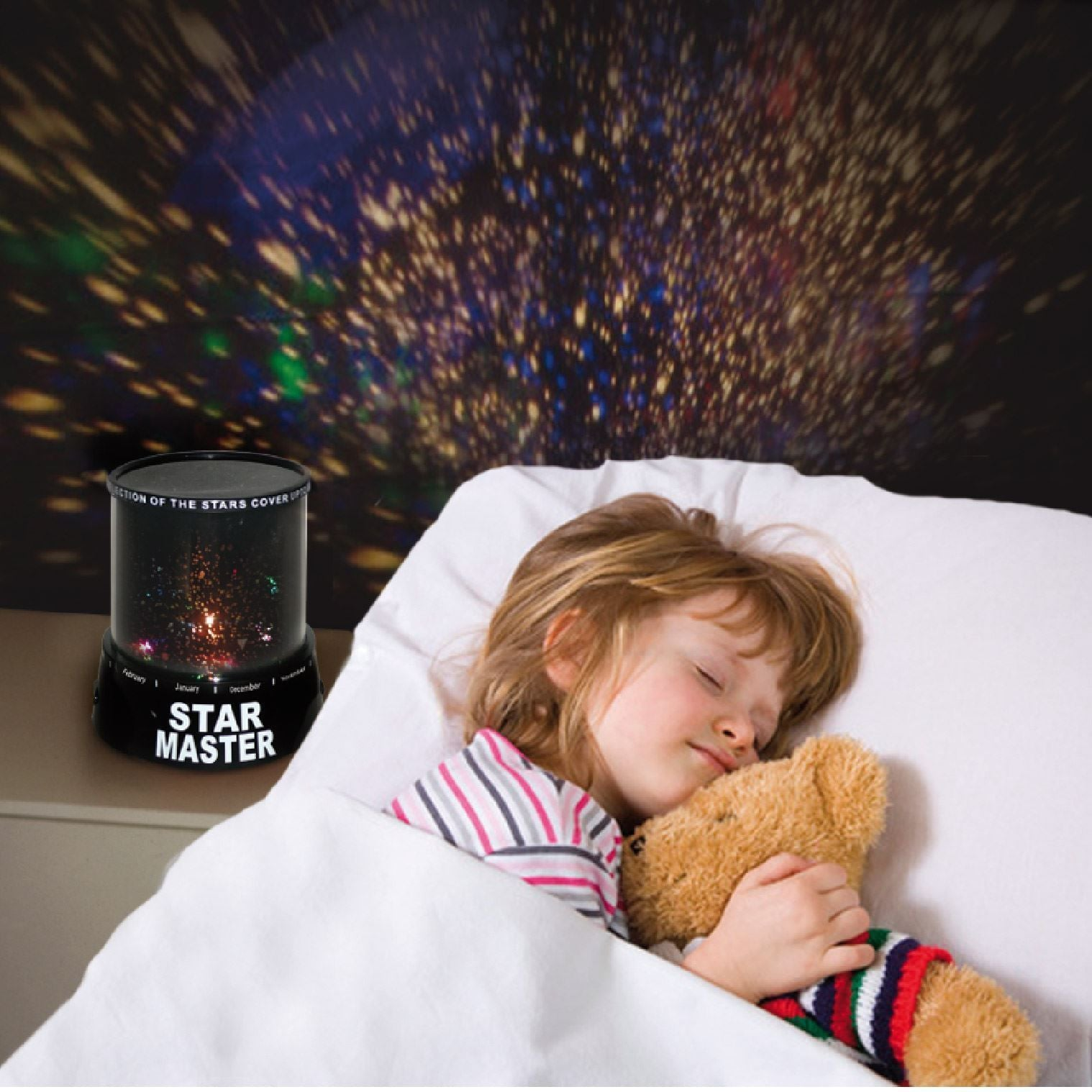 Star Master Planetarium Night Light Projector