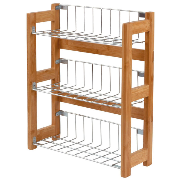 3 Tier Bamboo Spice Rack