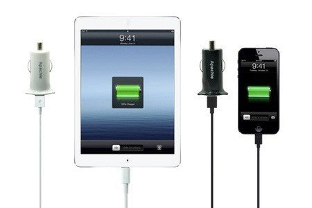 iPhone 5/5S/5C Lightning Car Charger Kit