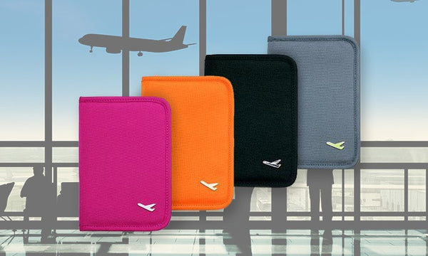 Passport and Travel Organiser in a Choice of Colour