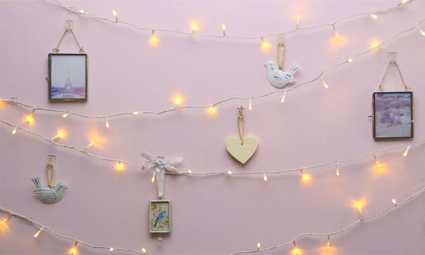 Command Decoration Clips for Christmas and Fairy Light