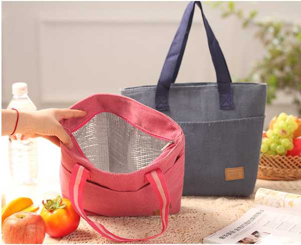 Canvas Thermal Lunch Bag
