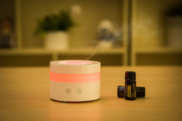 Round Ultrasonic Colour Changing Aromatherapy Machine