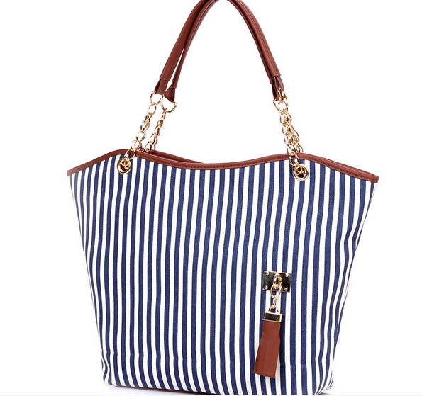 Summer Canvas Shoulder Beach Bag