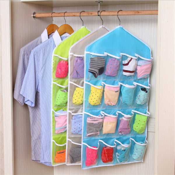 16 Pocket Hanging Storage Organiser