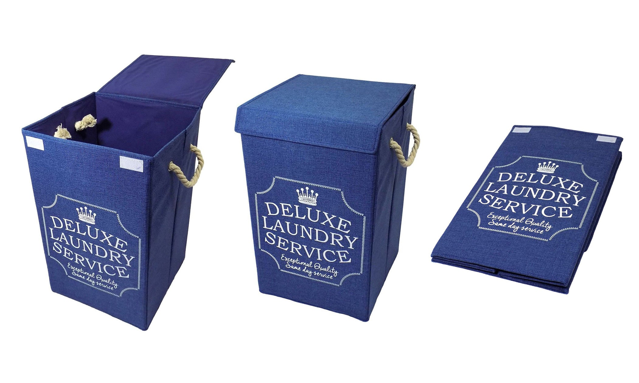 """Deluxe Laundry Service"" Laundry Hamper"