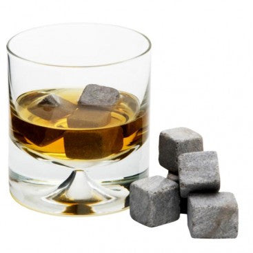 Whisky Stones or Stainless Steel Whiskey Stones