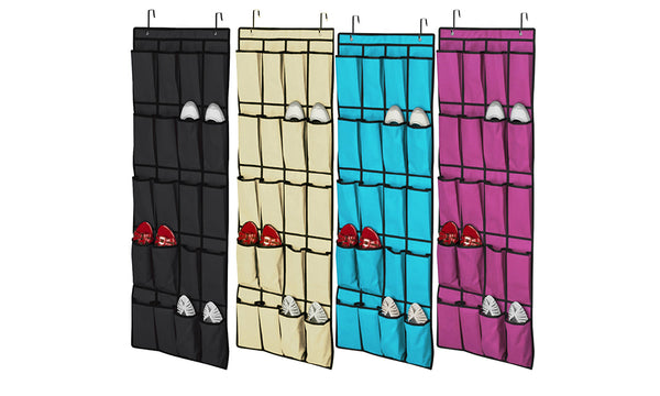 20 Pocket Overdoor Shoe Organisers