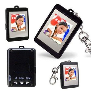 Digital photo frame picture key ring