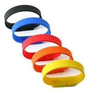 4gb USB wristbands