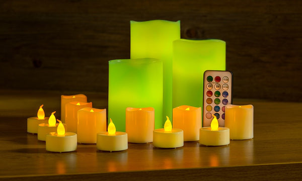 LED Flameless 15 Candle Pack