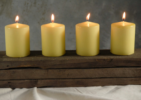 4 pack Citronella Votive Candles