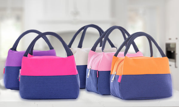2 Tone Thermal Lunch Bags