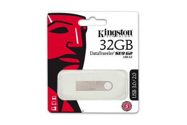 Kingston Technology DataTraveler SE9 G2 USB 3.0 Flash Drive
