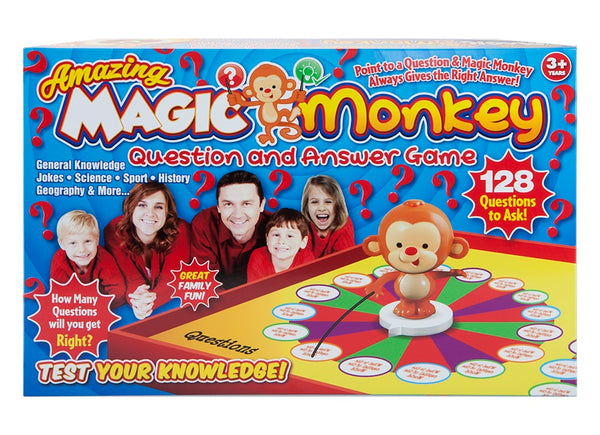 Dynergy - Magic Monkey Question & Answer Game with Answer Section