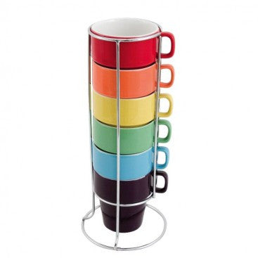 Rainbow Cappuccino Tower