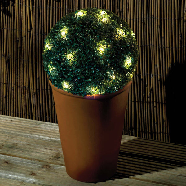 20 LED Solar Topiary Ball