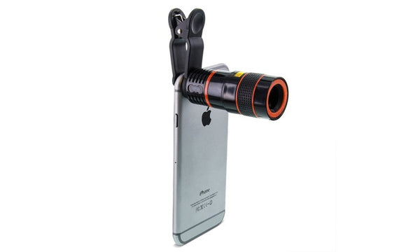 Clip On 8x Zoom Magnifier Phone Lens