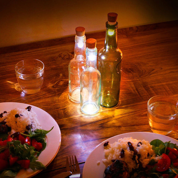 Rechargeable Cork LED Bottle Light