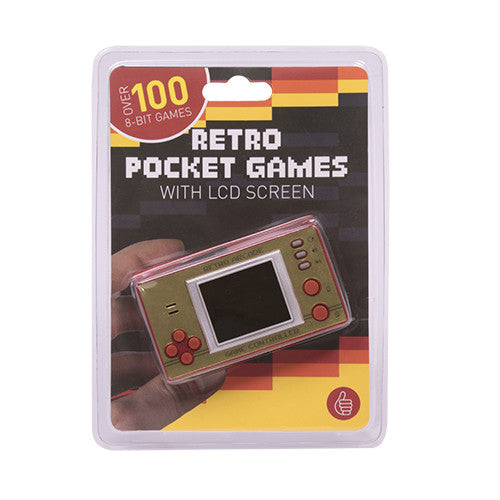 100+ Retro Pocket Games with LCD screen