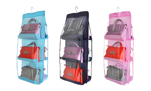 6 Pocket Handbag Organiser