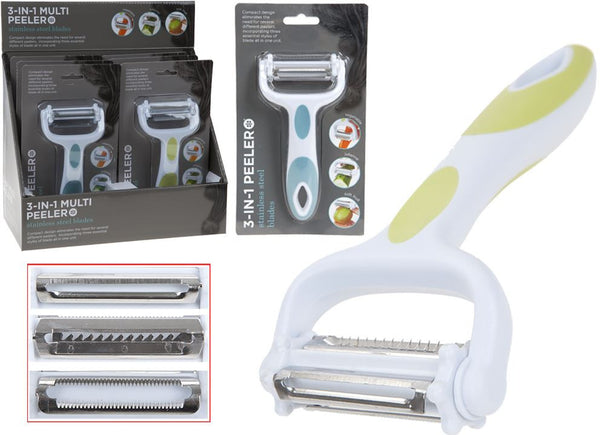 3 In 1 Multi Function  Peeler