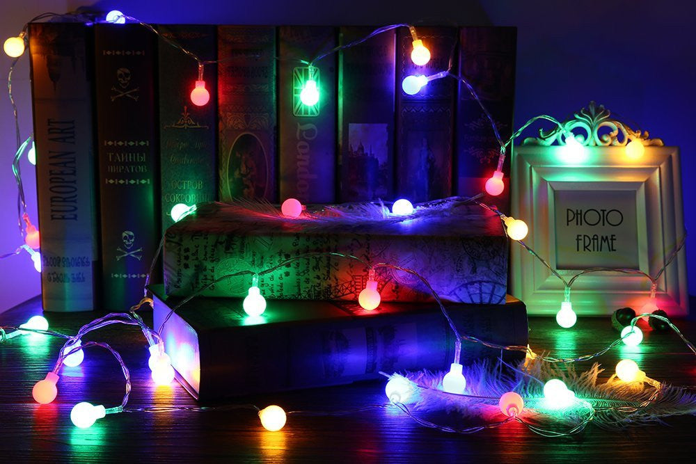40 LED Globe String Lights 4m long