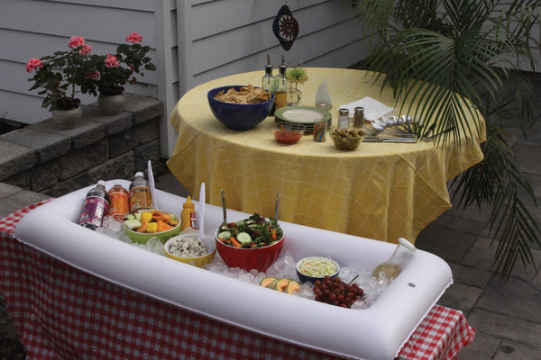 Inflatable Salad Bar & Beverage cooler