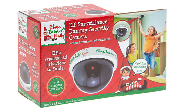 Christmas Surveillance Dummy Cameras - Elf or Santa