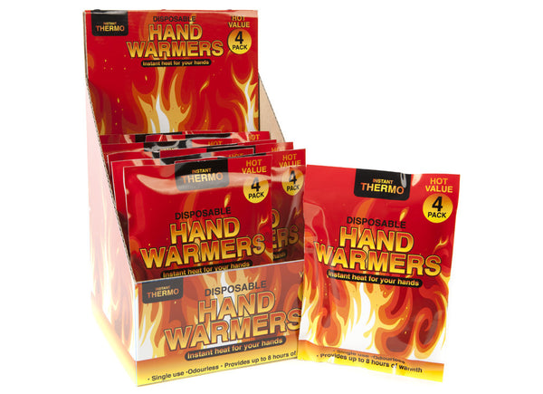 DISPOSABLE 4 PACK HANDWARMERS