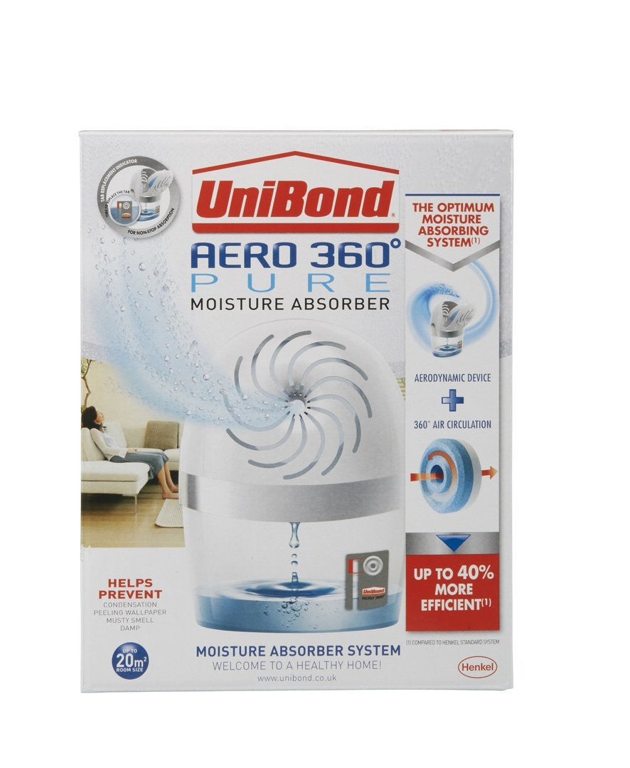 UniBond Aero 360 Pure Moisture Absorber Device with 1 Tab