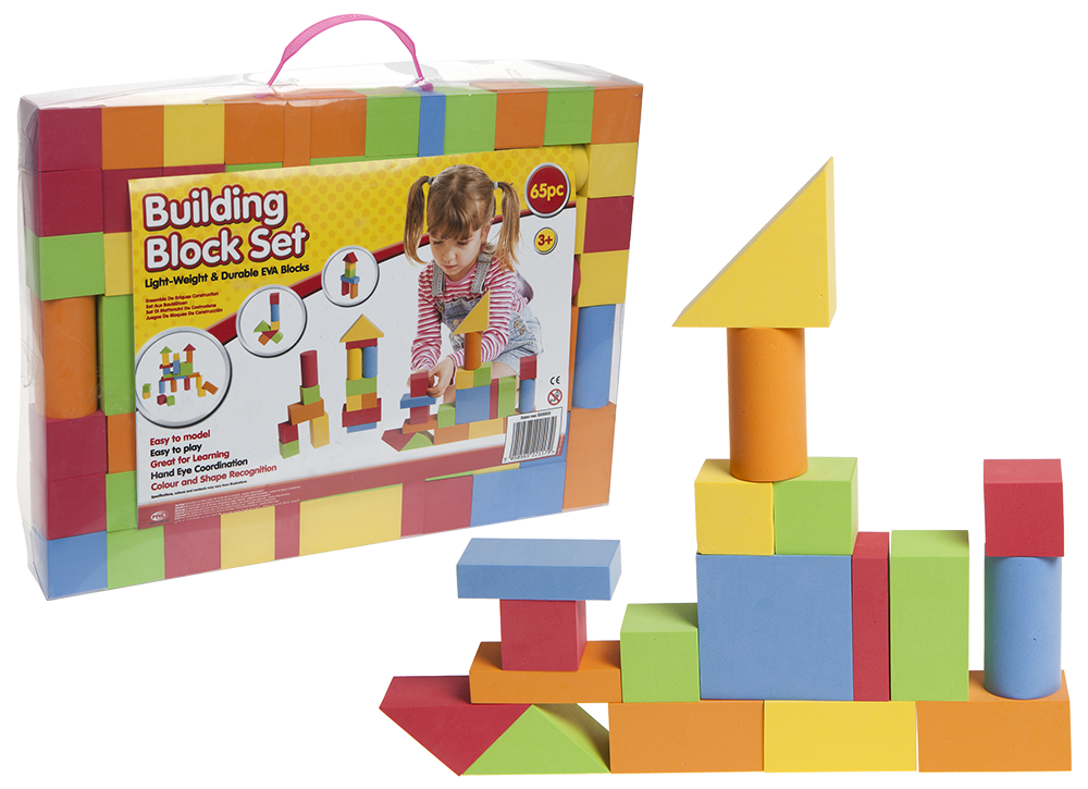 EVA Foam Building Block Brick Set
