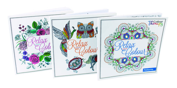 'Relax with Colour' Colour Therapy Books