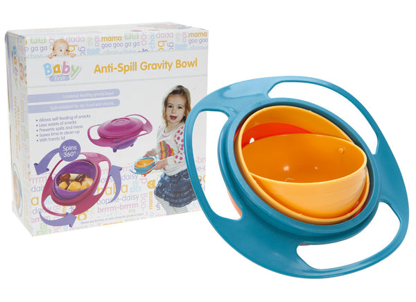 Infant Gravity Anti Spill Bowl