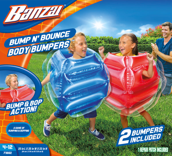 Banzai Bump N' Bounce Body Bumpers