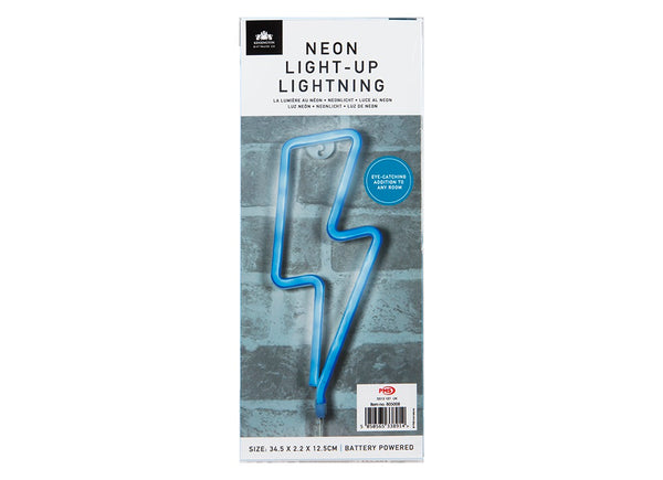 LIGHTNING HANGING NEON LIGHT