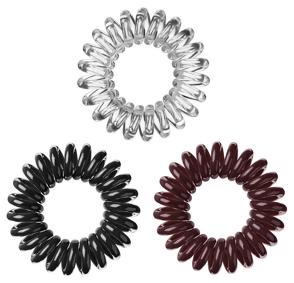Spiral Hair Bobble 6 Pieces