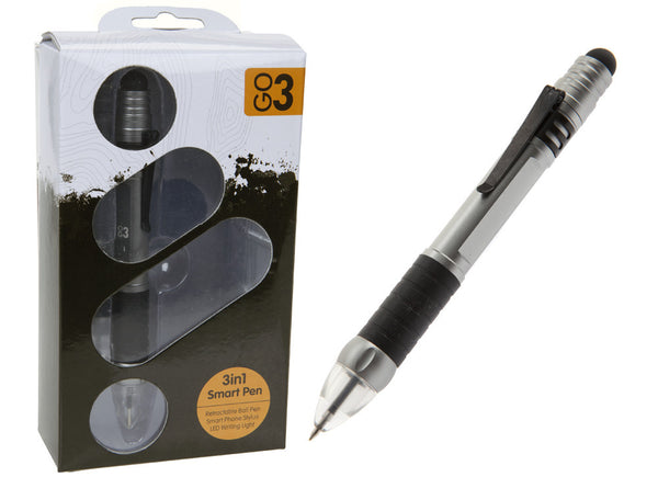 Summit GO3 Collection Pen With Smart Phone Stylus