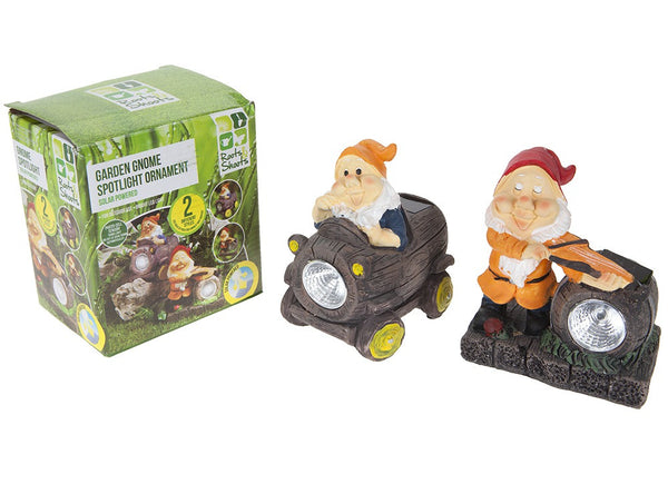Gnome Solar Lights