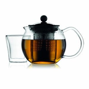 Bodum 1807-16 - Assam Teapot with Stainless Steel Filter