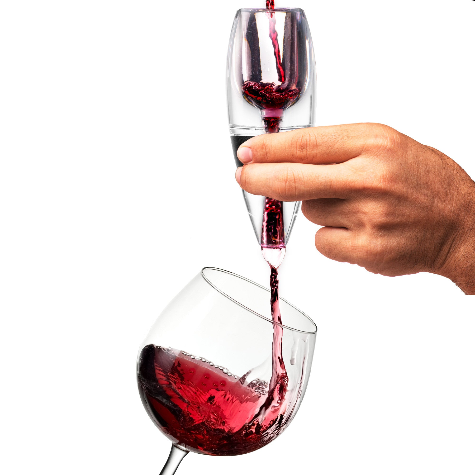 Wine Aerator with Stand and Mesh Filter