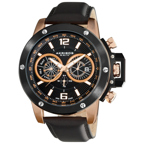 Akribos XXIV Conqueror Mens Watch