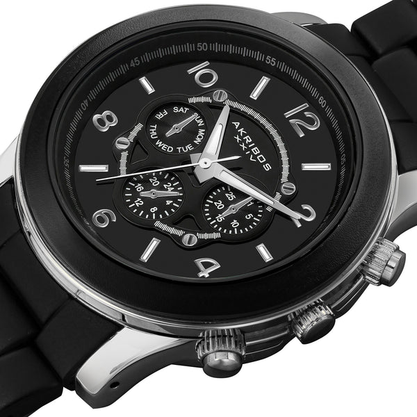 Akribos AK583 Ultimate Quartz Multi-Function Bracelet Watch