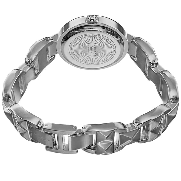 Akribos 755  Ladies Diamond Pyramid Cut Bracelet Watch