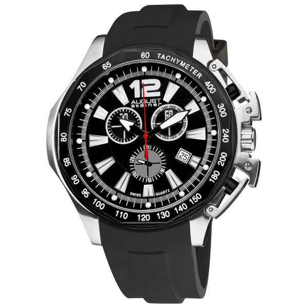AUGUST STEINER Mens Chronograph Date Watch - model AS8003