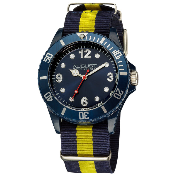August Steiner Kids' AS8061 Juniors Quartz Nylon Strap Sport Watch