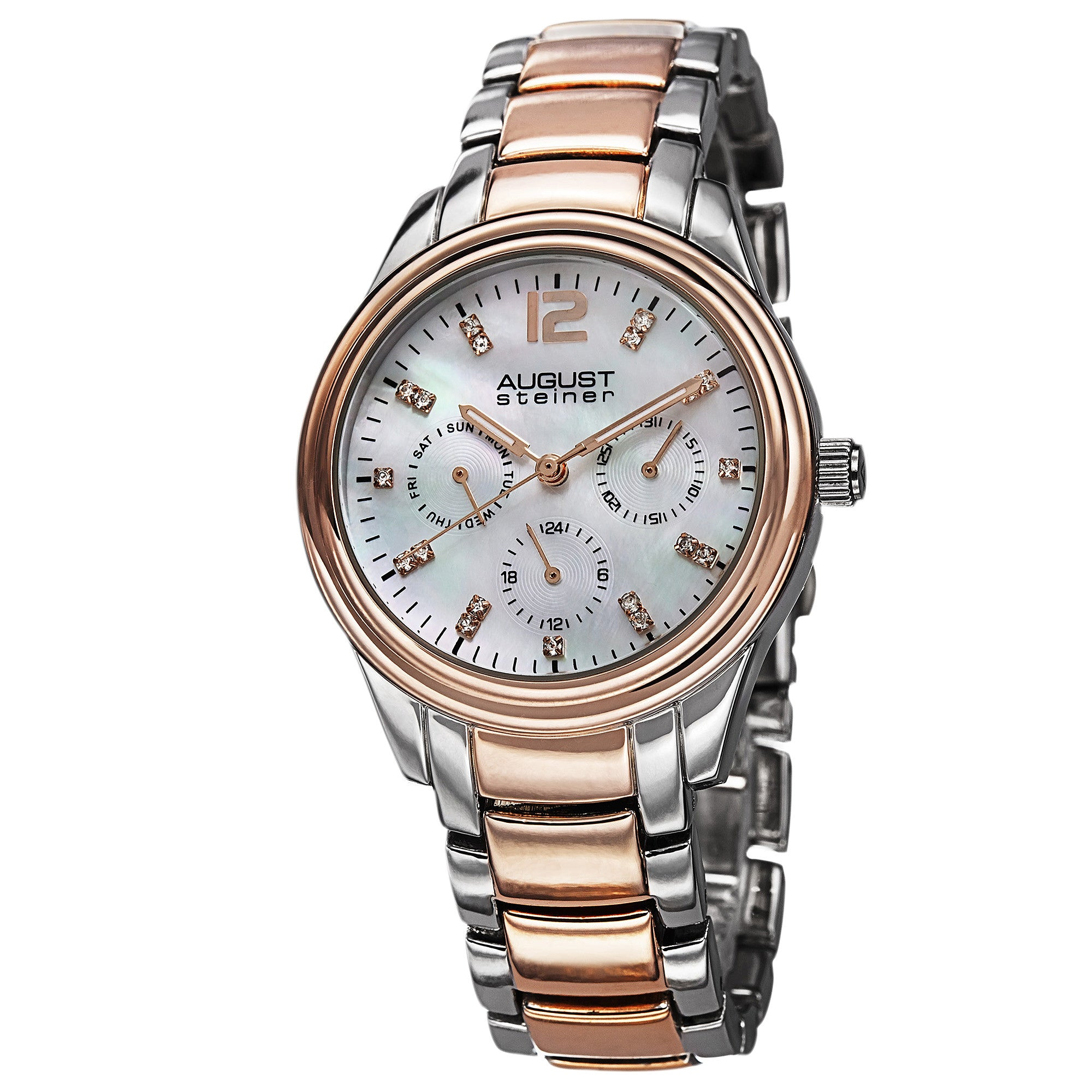 August Steiner AS8076 Womens Analog Display Quartz Watch