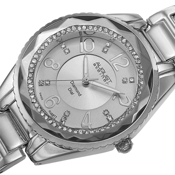 August Steiner Women's AS8122 Analog Display Swiss Quartz Watch