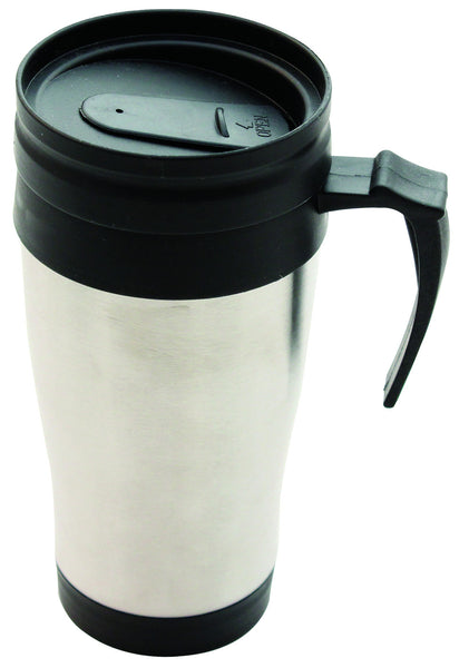 400ML STAINLESS STEEL INSULATED TRAVEL MUG