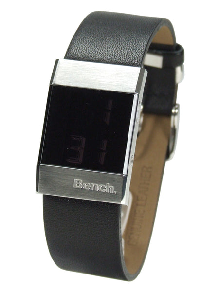 Bench ladies watch with leather strap